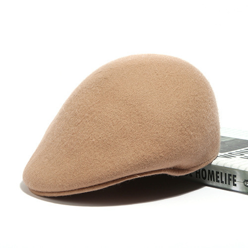 b94beb5654ba Mujeres lindo británico australiano 100% lana fieltro Boina sombrero mujer  francesa señora artista ...