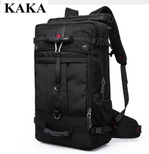 40L 50L путешествия рюкзак Для мужчин военные Оксфорд путешествия рюкзак Multi Функция 17 дюймов ноутбук камуфляж дорожная сумка рюкзак для Для м...