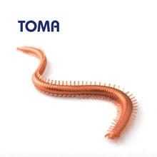 TOMA 10 шт./партия мягкий дождевой червь приманки рыболовные приманки 13,5 см 1,8 г Мягкая червь приманка рыболовная ловля нахлыстом