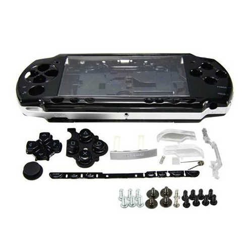 OSTENT Full Housing Shell Faceplate Case Parts Replacement for PSP 2000 Console