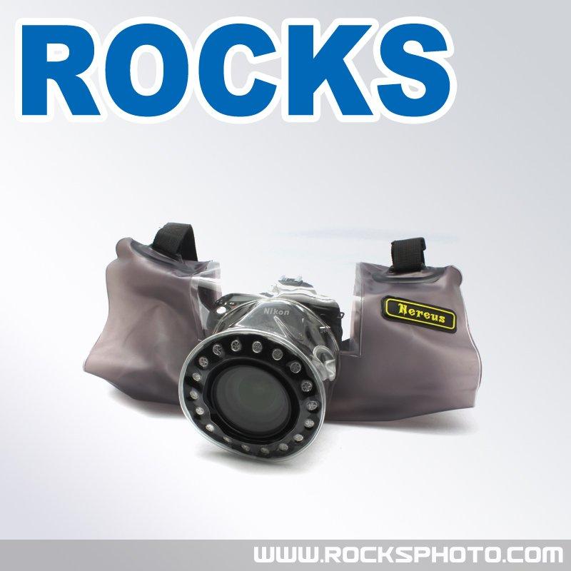 Protector de la cubierta de la lluvia de Cámara para Canon Nikon Pentax Olympus Panasonic Fuji DSLR