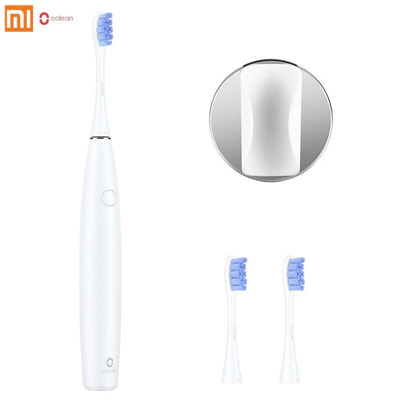 Xiaomi Oclean SE перезаряжаемые Sonic электрические зубные щётки международная версия приложение управление с 2 насадки и 1 настенный держатель
