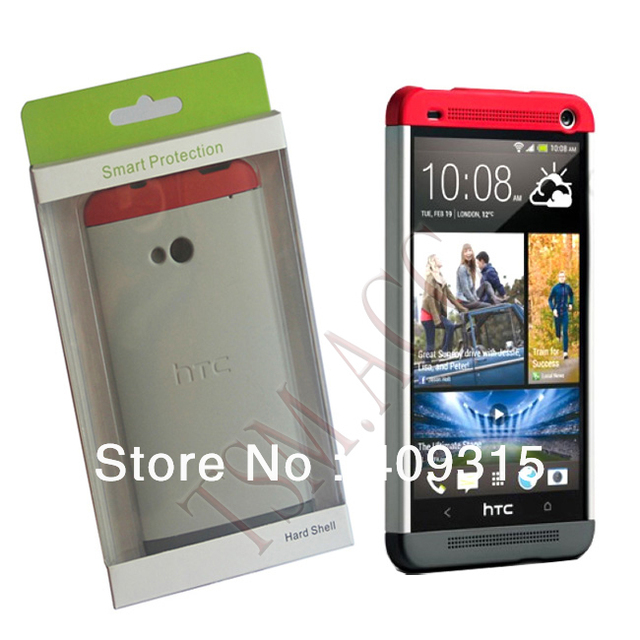 the best attitude d6c60 f9361 US $16.99 |GENUINE Smart Protection Double Dip Hard Shell For HTC ONE M7  Case Cover Retail Package Free Shipping Drop Shipping MOQ 1 Piece on ...