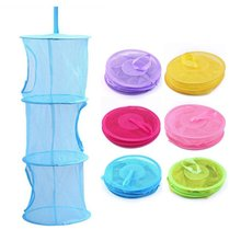 New Shelf Hanging Storage Net Kids Toy Organizer Bag Bedroom Wall Door Closet