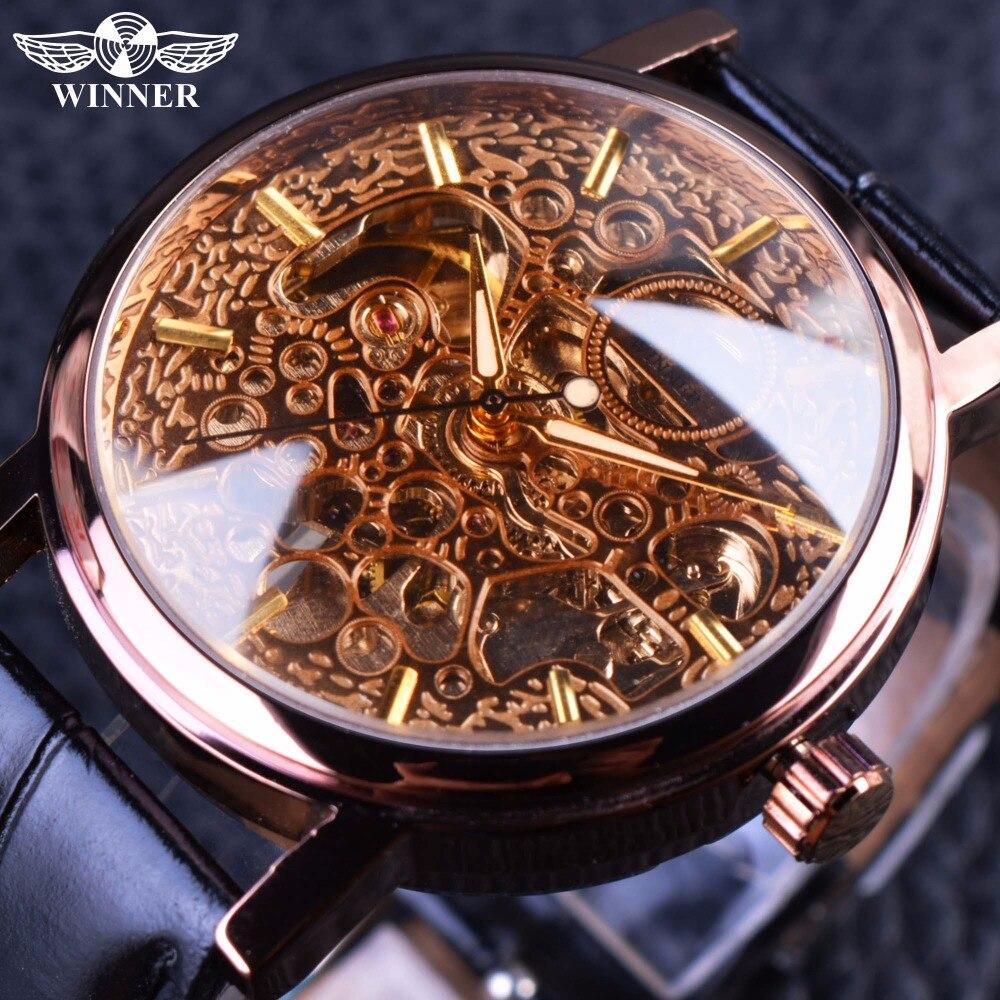 winner skeleton luxury gold как переставить время для отпуска Выбирая