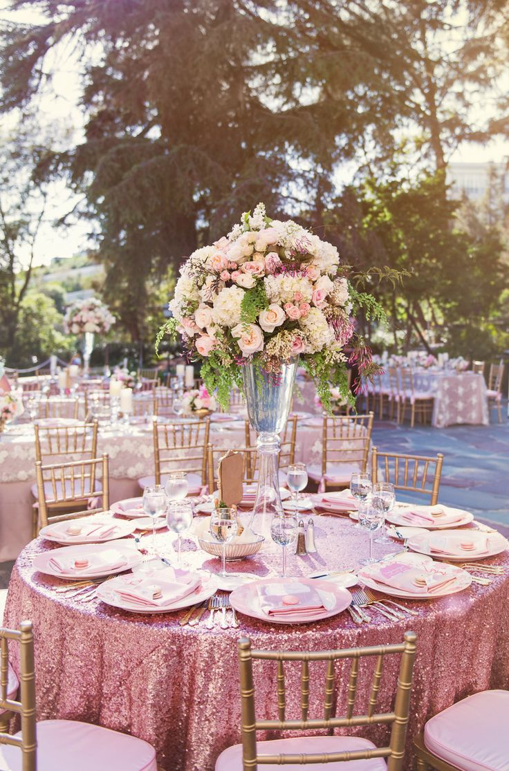 wedding decor blush pink and gold » Best Room Decor Ideas | Room ...