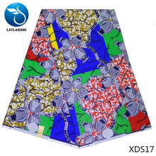LIULANZHI African Wax Print Fabric 100% Cotton Ankara Printed FREE SHIPPING XDS