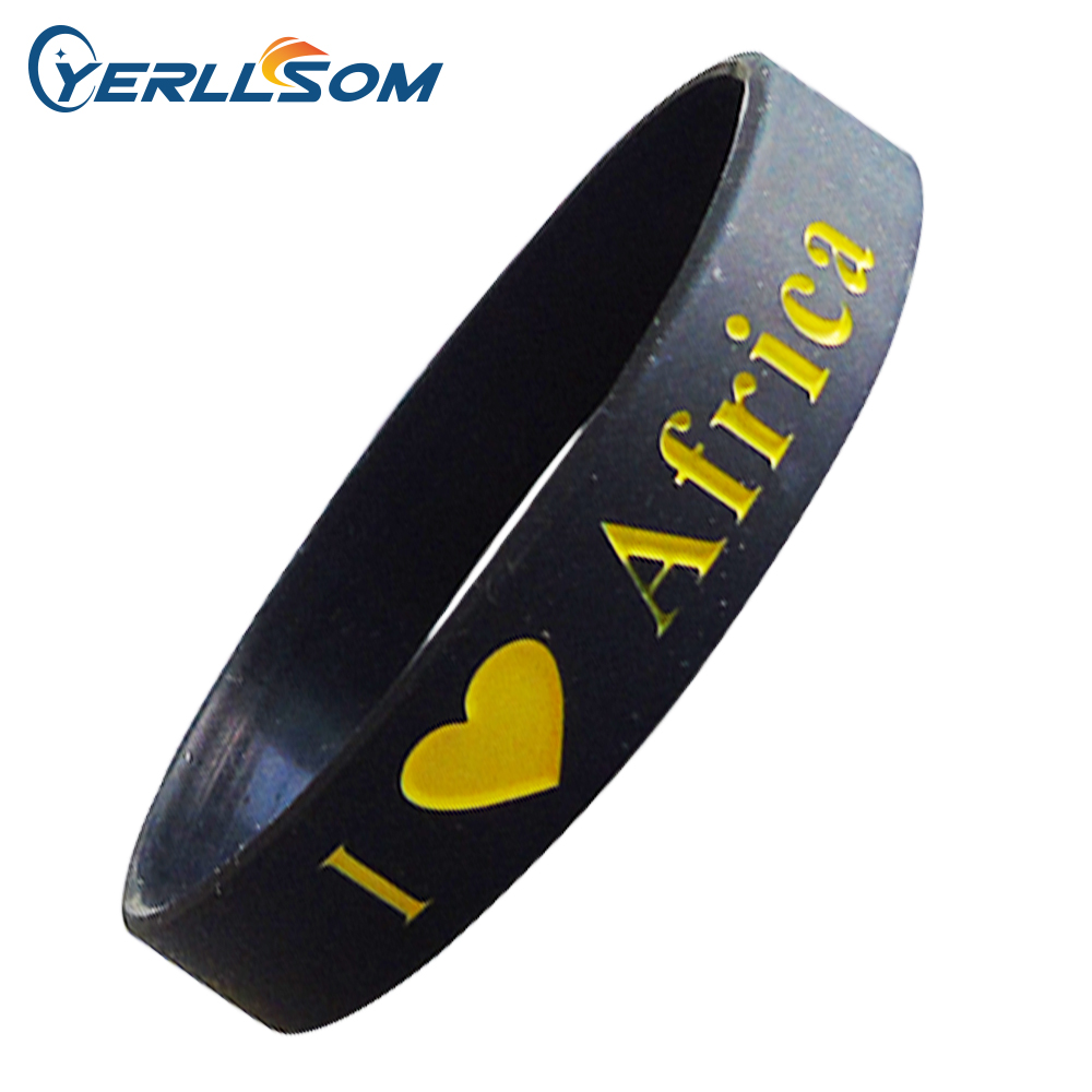 600pcs Lot High Quality Custom Personalized Rubber Bands for promotional gifts Y060307