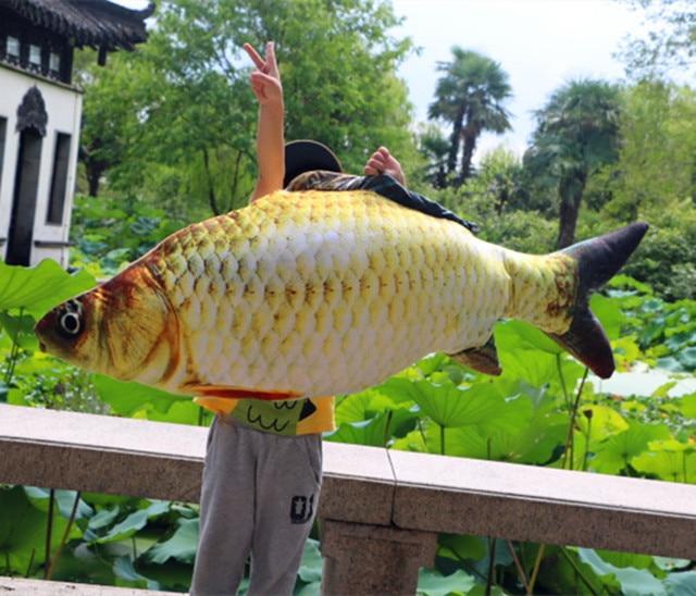 Aliexpresscom Beli Simulasi Boneka Besar 120 Cm Kartun Ikan Mas
