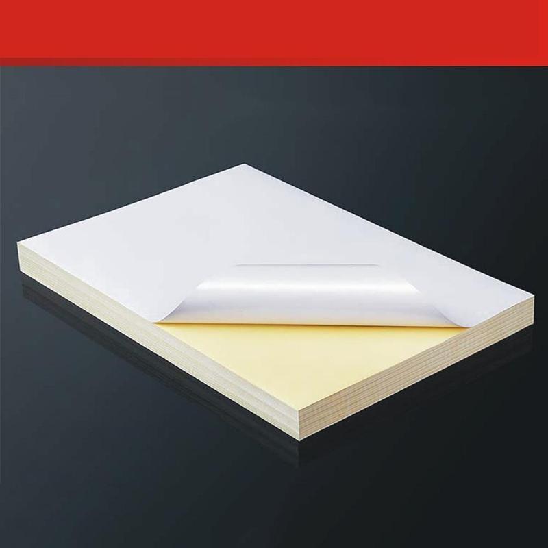 Papelaria Adesivo em branco etiqueta de papel Material : Papel