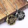 New Game of Thrones Chegada a Casa Tyrell Colar colar de Metal colar vintage pingente de flor Gargantilha Mulheres Collier Homens Jóias