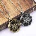 Nueva Llegada de Juego de Tronos Casa Tyrell Collar colar collar de Metal de la vendimia flor colgante Gargantilla Mujeres Collier Joyería de Los Hombres