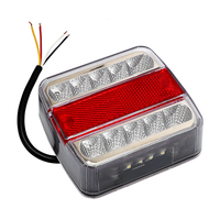 Car Warning Lights Waterproof LED Truck Tail Light Brake Stop Lamp High Quality DC 12V Trailer