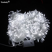Tanbaby 50M 400 LED holiday String Fairy Light AC220V Colorful Led Xmas Christmas Light for Festival Wedding Christmas Party