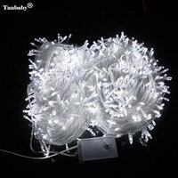 Tanbaby 50M 400 LED holiday String Fairy Light AC220V Colorful Led Xmas Christmas Light for Festival Wedding Christmas Party