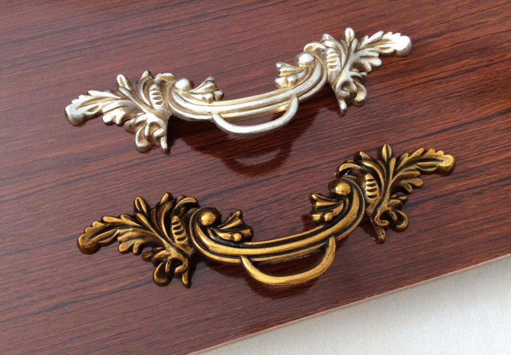 2.5'' Shabby Chic Drawer Handles Pulls Kitchen Cabinet Pulls Handles Knobs / Dresser Handles Decorative Hardware css clear crystal glass cabinet drawer door knobs handles 30mm