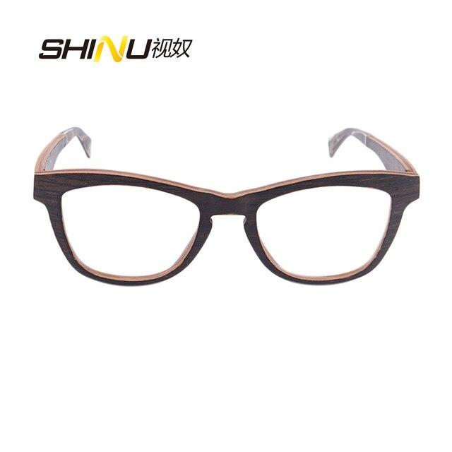Online Shop Vintage eyeglasses frame Reading Glasses black walnut ...