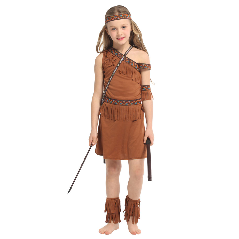 Sweet Indian Princess Halloween Costume  2