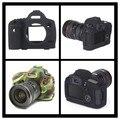 Новая Камера Сумка Мягкие Силиконовые Защитный Чехол Кожа Случае Для Canon EOS 5D Mark III 5D3/5DS/5DR Камеры