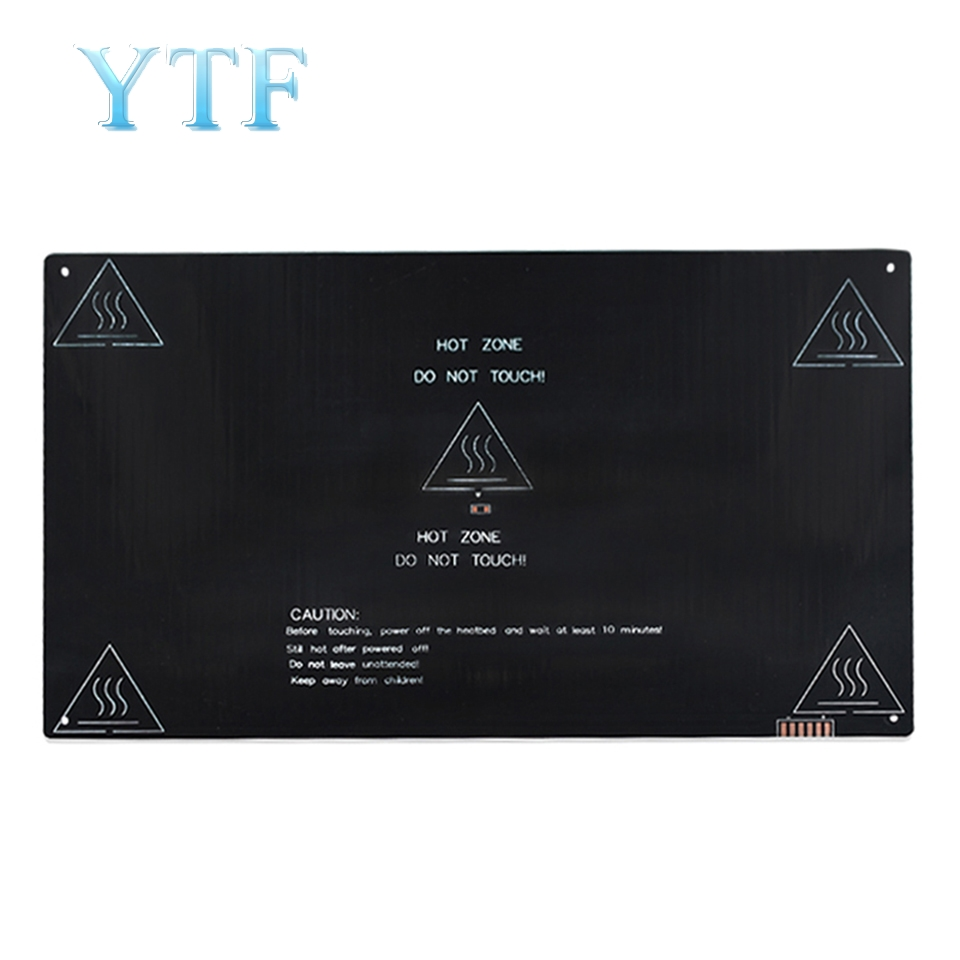3d Printer Heating Plate Hot Bed Accessories Pcb Hot Bed 3mm Mk2a 320*320*3mm Aluminum Substrate Heating A Great Variety Of Models 3d Printer Parts & Accessories