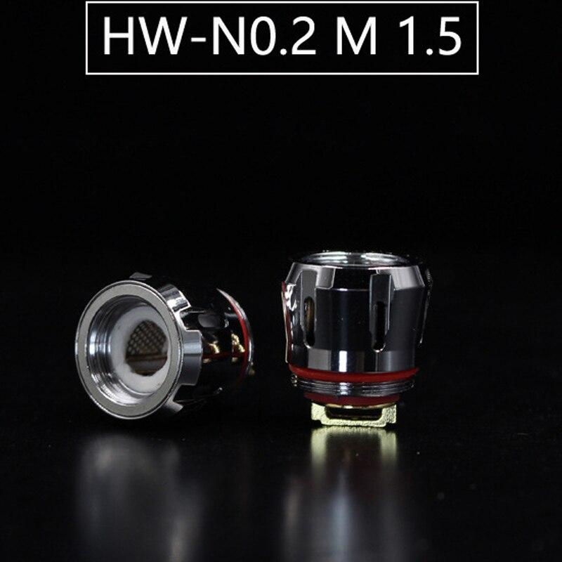 5 pz CIANO HW Serie Bobina Testa HW-M HW-N per Ello Serie Serbatoio Atomizzatore Vape Bobina Testa IJust 3 Kit iJust NexGen Kit