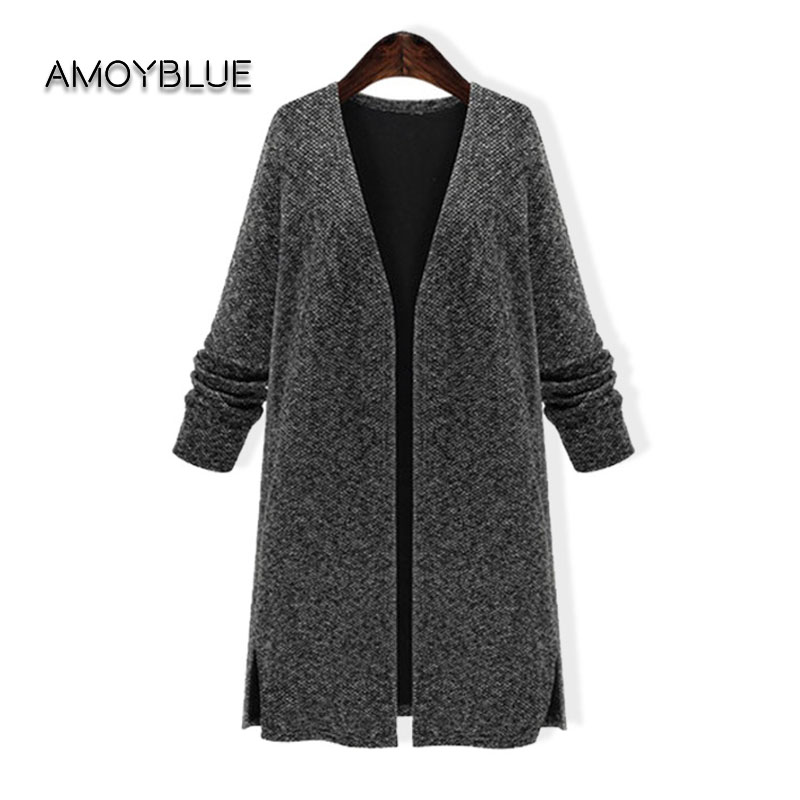 Popular Long Grey Cardigan Sweater-Buy Cheap Long Grey Cardigan ...
