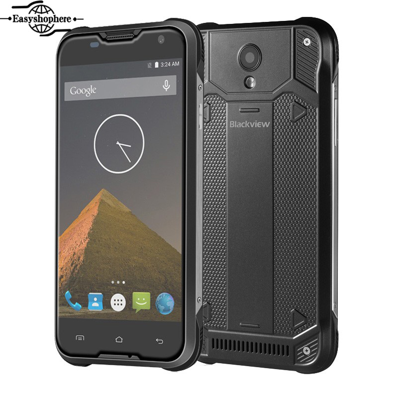 Original 5 Blackview BV5000 Smartphone Android 5 1 Quad Core 4G LTE Cell Phone Waterproof 2GB