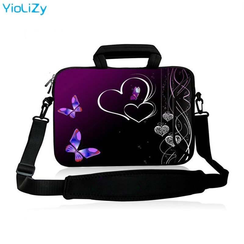 owl print Laptop shoulder Bag 9.7 11.6 13.3 14.4 15.4 15.6 17.3 inch Notebook sleeve Case With strap PC Messenger bag SB-5374