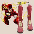 El Flash Cosplay Botas Zapatos de Halloween Personalizado