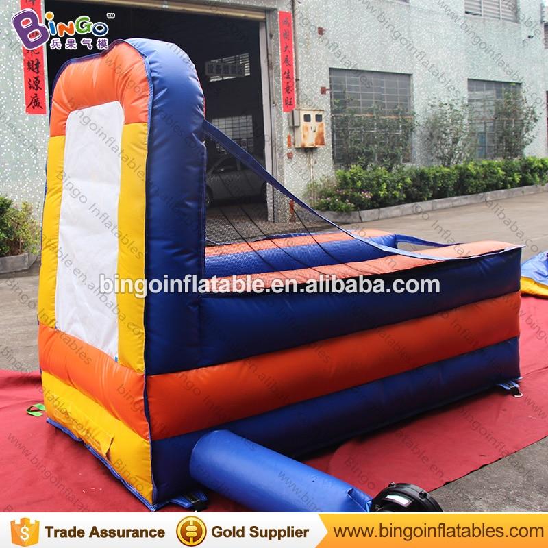 Fabriek te koop 1.3x2.5x2 meter opblaasbare mini draagbare basketbal game speelgoed - 6