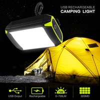 1PC Portable USB charging Tent Light Rechargeable Li Battery Mobile Power Bank Camping Tent Light Outdoor Hanging Camping Lights