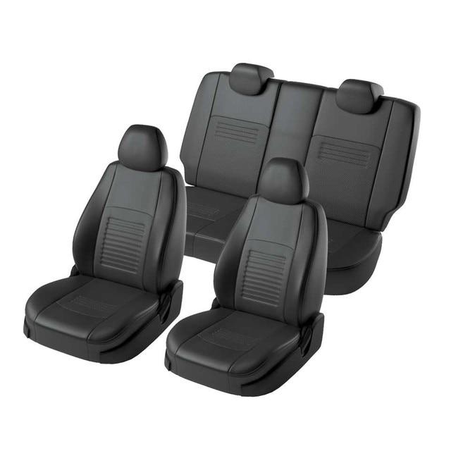 Для Hyundai Elantra HD 2006-2010 Комплект модельных авточехлов Модель Турин экокожа
