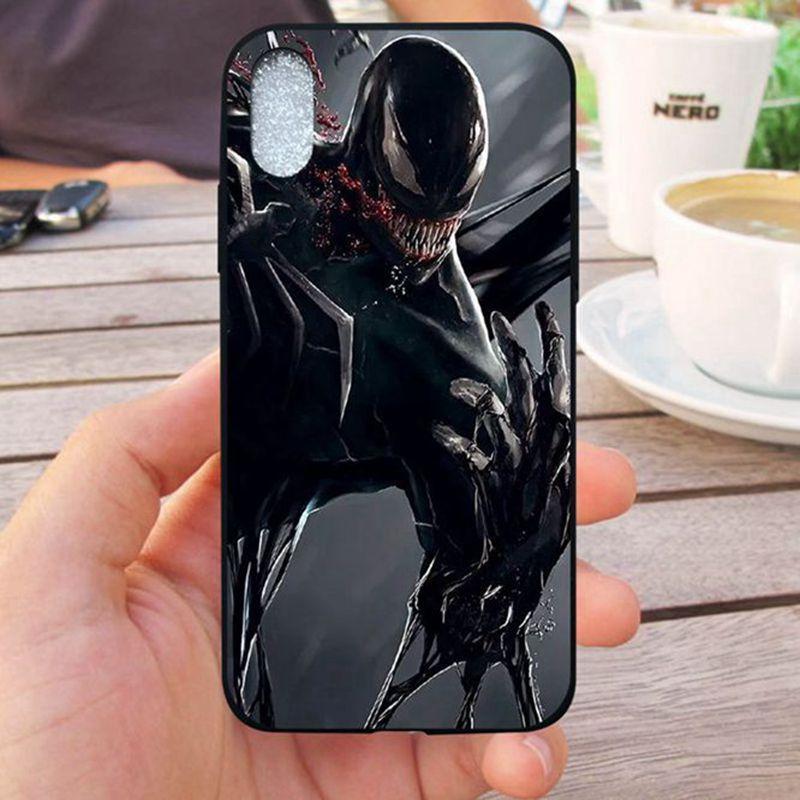 MuTouNiao VENOM #4 Silicon Soft Case Cover For iPhone 5 5s SE 6 6S 7 8 X XS XR Max Plus