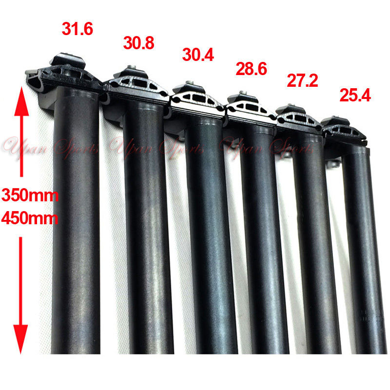 350mm Long Seatpost Seat Post Tube For Road Mountain Bike Bicycle
