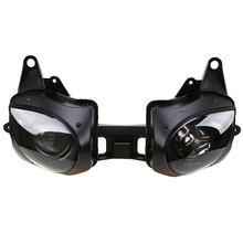Front Motorcycle Headlight Lens Replacement Cafe Racer for Kawasaki Ninja ZX6R/ZX636 2007 2008 Motocicleta Lighting Housing Case