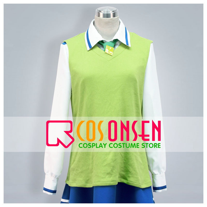 COSPLAYONSEN Smile PreCure Cure March Midorikawa Nao Cosplay Costume Full Set Any Size Custom Made