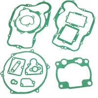 LOPOR Motorbike engine gaskets Crankcase Covers cylinder Gasket set For KAWASAKI KX250 KX 250 1997 2003 97 98 99 01 02 03
