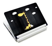 """Girafe ordinateur portable vinyle autocollants bloc-notes couverture en 12 """"13"""" 13.3 """"14"""" 15 """"15.4"""" pour HP DELL ACER ASUS NEK1215-1297"""