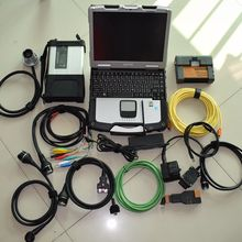 For bmw icom a2 diagnostic mb star c5 with software 2in1 hdd 1tb with laptop cf30 ram 4g ready to use 2 years warranty