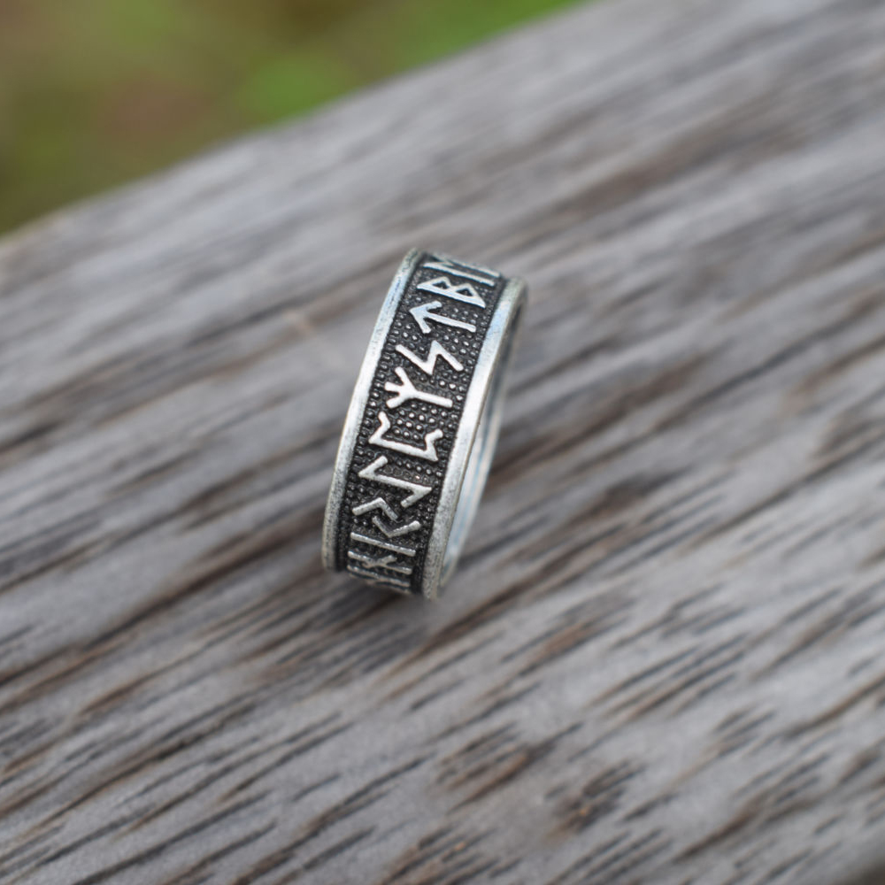 buy 12pcs viking rune ring nordic runes and meaning rune ring viking runic. Black Bedroom Furniture Sets. Home Design Ideas