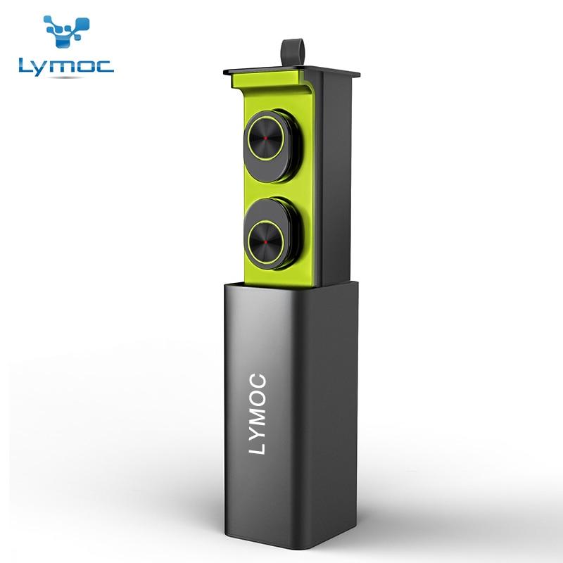 Lymoc GW10 СПЦ мини Беспроводной наушники Bluetooth наушники магнит V4.2 гарнитура с HD микрофоном гарнитура для iPhone samsung Xiaomi