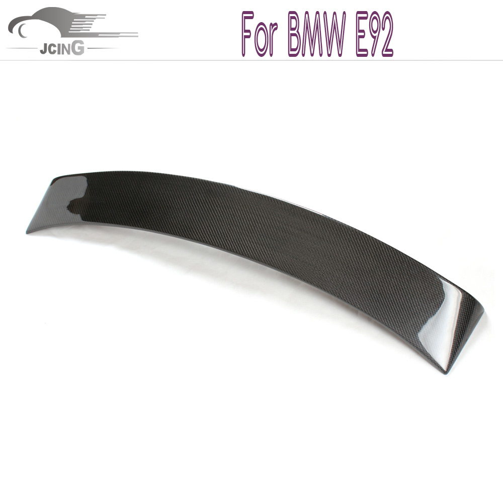 Carbon Fiber Rear Roof lip spoiler for BMW 3 Series E92 coupe - Auto Replacement Parts - Photo 1