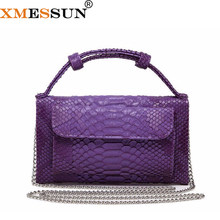 Fashion Cowhide Leather Day Clutch One Shoulder Cross-body Bag Small Crocodile Pattern Genuine Leather Clutch Chain Women's L172(China)