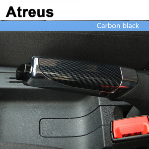 Atreus Car Styling Automobile Handbrake Grips Sticky Covers For Mitsubishi ASX Suzuki Subaru Acura Jeep Fiat 500 Hyundai Solaris