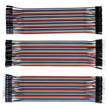 40 Pin For Jumper 10CM 20CM 30CM Male To Female To Male To Female Multicolor Jumper For DuPont Cable For DIY Car Jump Wire Kit dupont line 10cm 20cm 30cm male to male male to female and female to female jumper wire dupont cable free shipping