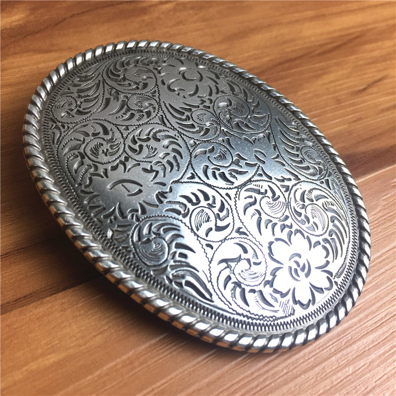 Top Quality Luxury Alloy Belt Buckle Vintage Arabesque Male Belt Buckle For Man Leather Belt AK0033