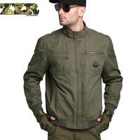 UK US Army Clothes Casual Tactical Windbreaker Men Winter Autumn Waterproof Flight Pilot Coat Military Field Jacket plussize