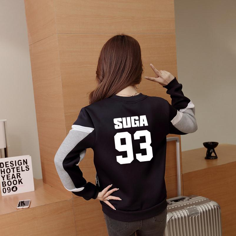 kpop BTS Album sweat Bangtan Boys baseball long sleeve jacket high quality hoody k-pop autumn winter velvet academy wind coat