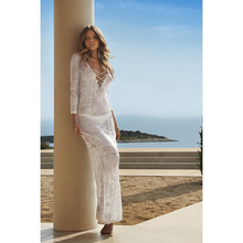 Pareo Beach To Swimsuit Coverup And Tunics Dresses Lace Cover Up Coverups The Long Dress 2019 New Knitted Skirt Loose Female