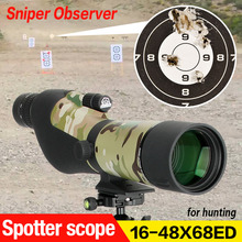 E.T Dragon Outdoor SP9 16-48X68ED ED Lens Spotting Scope For Hunting Shooting gs26-0025